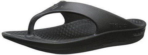 Telic Flip Flops Midnight Black 2XL