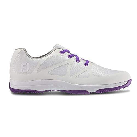 FootJoy Women's Leisure-Previous Season Style Golf Shoes White 7 M Purple, US [product _type] FootJoy - Ultra Pickleball - The Pickleball Paddle MegaStore