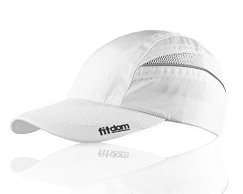 Fitdom Lightweight Sports Cap for Men and Women, One Size Fits All Even with a Ponytail, All Season Performance Hat for Running, Walking, Hiking, Marathon, Tennis, Golf & More [product _type] Fitdom - Ultra Pickleball - The Pickleball Paddle MegaStore
