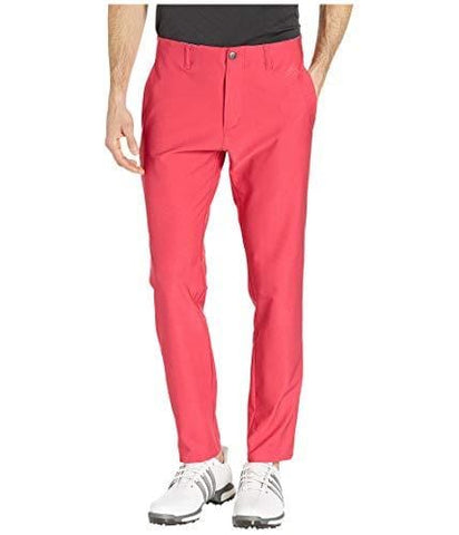 adidas Golf Ultimate 3-Stripe Tapered Pant, Active Pink, 3332