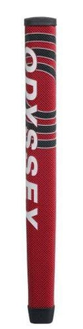 Odyssey Putter Grip, Jumbo, Black/Red