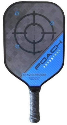 Engage Poach Advantage Black Edition Pickleball Paddle [product _type] Engage Pickleball - Ultra Pickleball - The Pickleball Paddle MegaStore