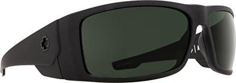 Spy Optic Konvoy Wrap Sunglasses, 66 mm (Matte Black)
