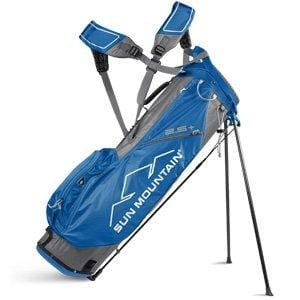 Sun Mountain Golf 2018 2.5+ Stand Bag GRAY-COBALT (Gray/Cobalt)