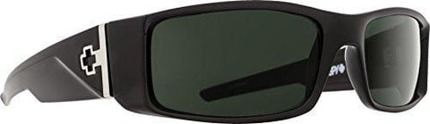 Spy Optic Hielo Black-Happy Gray Green Rectangular, Gray & Green, 56 mm