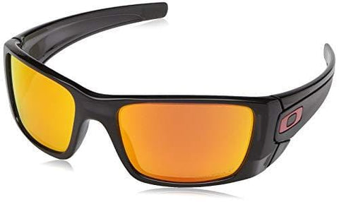 Oakley Men's Fuel Cell Rectangular Sunglasses, Black Ink, 60 mm