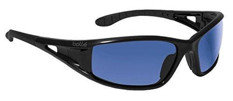 Bolle Safety Blue Mirror Safety Glasses, Scratch-Resistant, Full