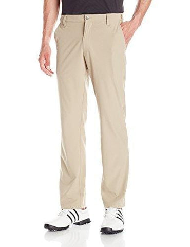 adidas Golf Men's Ultimate Regular Fit Pants, Khaki, Size 36/32