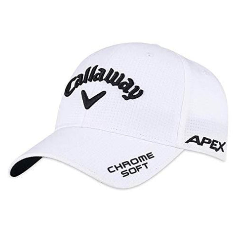 Callaway Golf 2019 Tour Authentic Performance Pro Hat, White