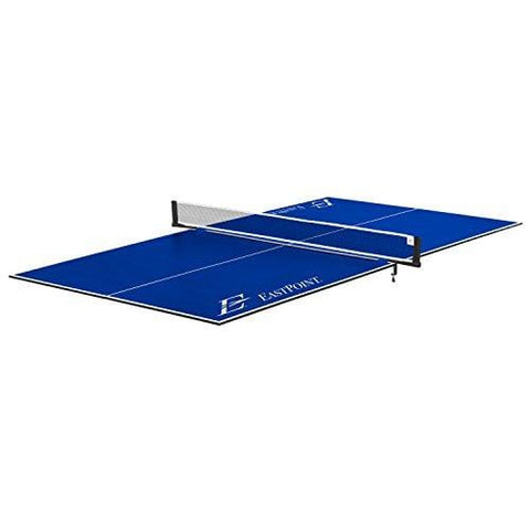 EastPoint Sports Foldable Table Tennis Conversion Top - Features No Assembly, Easy Storage, and Complete with Net & Post Set