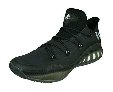 adidas Crazy Explosive Low Mens Basketball Sneakers/Shoes-Black-14.5