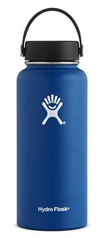 Hydro Flask W64TS407 Wide Mouth 64 oz. Insultated Bottle, 1900 ml, Cobalt