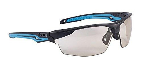 Bolle Safety Tryon Tyron Glasses with CSP Lens, Black/Blue, CSP