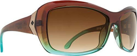 Spy Optic Farrah Flat Sunglasses,Mint Chip Fade/Happy Bronze Fade,62 mm