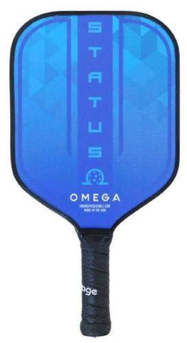Engage Omega Status Pickleball Paddle (Ice Blue) [product _type] Engage Pickleball - Ultra Pickleball - The Pickleball Paddle MegaStore