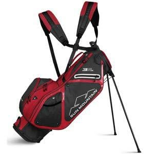 Sun Mountain 2019 3.5 Ls Zero-G Stand Bag - Steel-Red