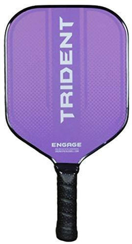 Engage Pickleball Paddle Trident (Purple) [product _type] Engage Pickleball - Ultra Pickleball - The Pickleball Paddle MegaStore