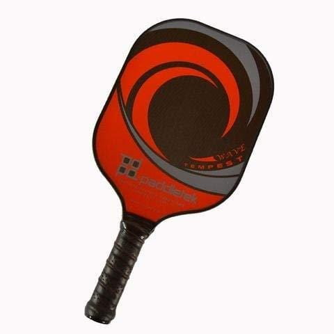 Paddletek Tempest Wave Pickleball Paddle, Red/Black