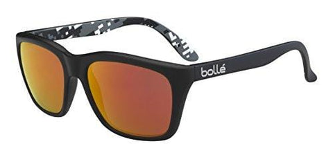 Bolle 527 Sunglasses, Matte Black/Camo Polarized TNS Fire Oleo AR