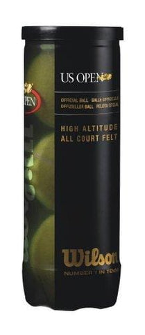 Wilson US Open High Altitude Tennis Ball (3 Ball Can)