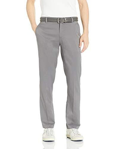 Amazon Essentials Men's Standard Straight-Fit Stretch Golf Pant, Gray, 36W x 34L