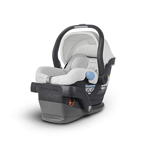 UPPAbaby MESA Infant Car Seat - Bryce (White & Grey Marl), Standard