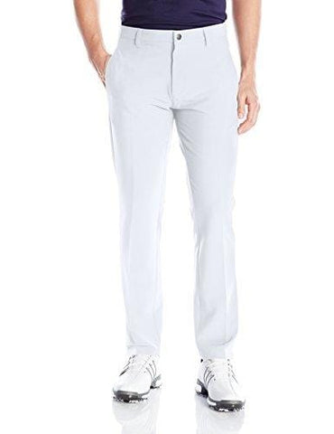 adidas Golf Men's Adi Ultimate 3 Stripe Pants, White, Size 34/30