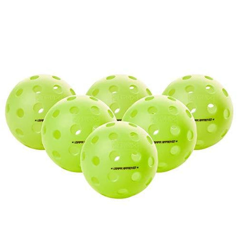 Onix Fuse G2 Pickleball Ball | Outdoor | Neon | 6 Pack [product _type] Onix - Ultra Pickleball - The Pickleball Paddle MegaStore