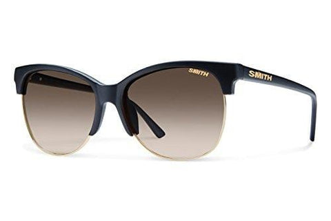 Smith Optics Rebel Carbonic Polarized Sunglasses, Matte Black, Brown Gradient