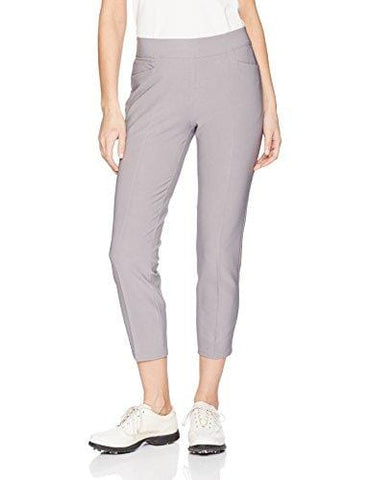 adidas Golf Women's Ultimate Adistar Ankle Pants, Large, Grey Three