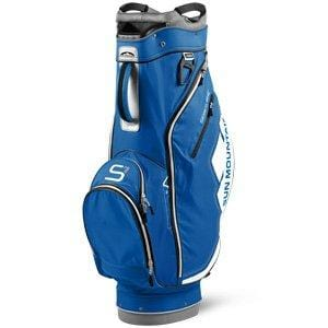 Sun Mountain Women's S-1 Cart Golf Bag, Pacific/White/Grey