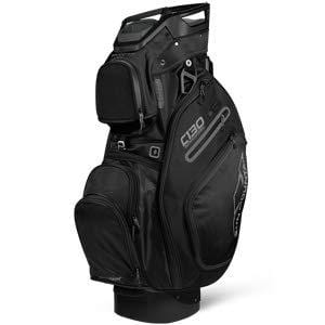 Sun Mountain Golf 2019 C-130 Supercharged Cart Bag BLACK (Black)