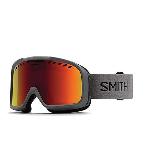 Smith Optics Project Snow Goggles Charcoal w/Red Sol-X Mirror Lens