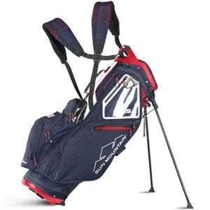 Sun Mountain 2018 5.5 LS Stand/Carry Golf Bag - Navy-White-Red