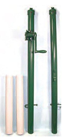 Har-Tru Tennis Court Accessories - Tennis Net - Pickleball/Paddle Post -GREEN