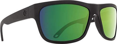 Spy Optic Angler Polarized Flat Sunglasses, 59 mm (Matte Black)
