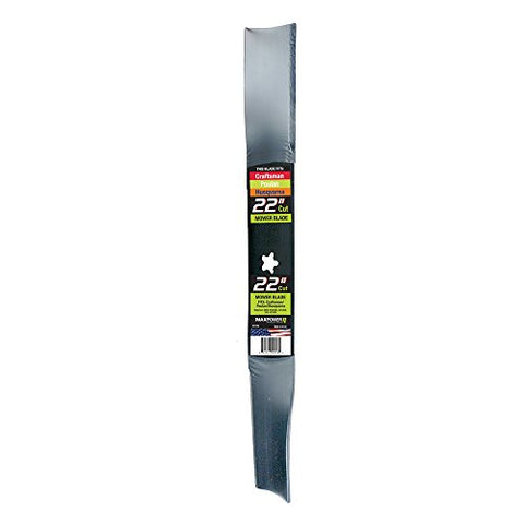 Maxpower 331740B Mower Blade for 22 Inch Cut Poulan/Husqvarna/Craftsman Replaces 420463, 421825, 437601, Black