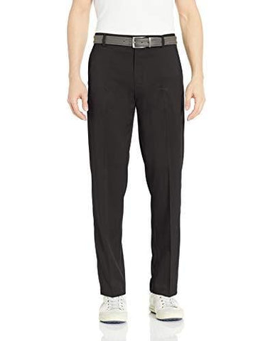 Amazon Essentials Men's Standard Classic-Fit Stretch Golf Pant, Black, 40W x 32L