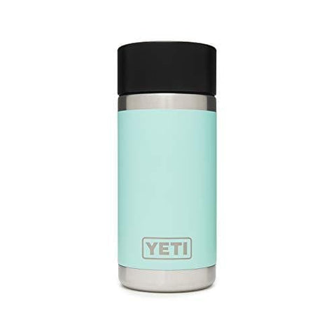 YETI Rambler 12 oz Stainless Steel Vacuum Insulated Bottle with Hot Shot Cap, Seafoam