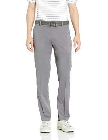 Amazon Essentials Men's Slim-Fit Stretch Golf Pant, Gray, 32W x 32L