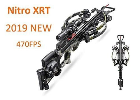 Tenpoint Nitro XRT Crossbow Elite Package, EVO-X Marksman Scope, Sling, STAG Hard Case and ACUdraw PRO Cocking Device | 2019