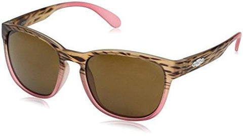 Suncloud Loveseat Sunglasses, Mt Tortoise Pink Fade Frame/Brown Polycarbonate Lens, One Size