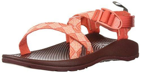 Chaco Girls' Z1 Ecotread Sport Sandal Kaleido Peach 2 Medium US Little Kid [product _type] Chaco - Ultra Pickleball - The Pickleball Paddle MegaStore