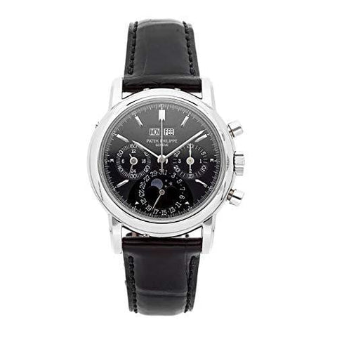 Patek Philippe Grand Complications Mechanical (Hand-Winding) Black Dial Mens Watch 3970EP-020 (Certified Pre-Owned)