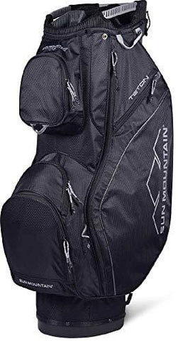 Sun Mountain 2019 Teton Cart Bag Black/Black
