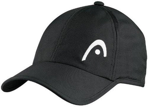 Head Pro Player Hat-Black [product _type] HEAD - Ultra Pickleball - The Pickleball Paddle MegaStore