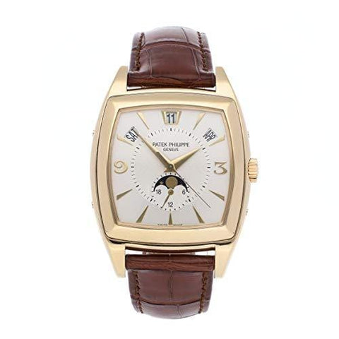 Patek Philippe Gondolo Mechanical (Automatic) Silver Dial Mens Watch 5135J-001 (Certified Pre-Owned)