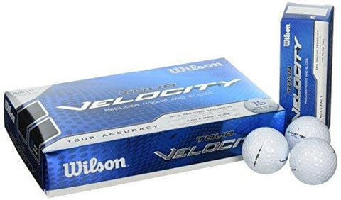 Wilson Tour Velocity Golf Ball (15-Pack), Accuracy