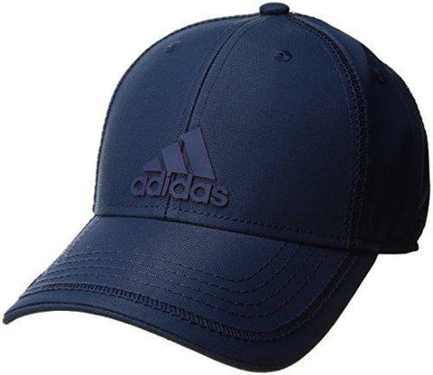adidas Mens Contract III Structured Adjustable Cap, Mystery Blue/Scarlet, One Size [product _type] adidas - Ultra Pickleball - The Pickleball Paddle MegaStore