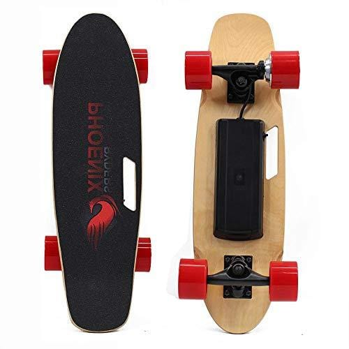 Alouette SKATEBOLT Electric Skateboard with Remote Controller - S1 Small  Fish Plate, 10-20km/h 250W Hub-Motor 2 75